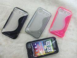 Gel-Kasten-Abdeckungs-Haut des Handy-weiche Kristall-TPU für HTC unglaubliches S S710e