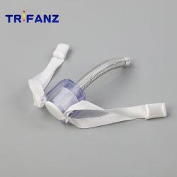 外科器具ディスポーザブル PVC 気管切開(火)は、カフ付き / カフなしで強化されている