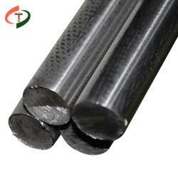 Ss400 Grade D 1045 1050 1055 65mn S355JR GO 55# laminés à chaud la tige en acier au carbone à barre plate de barres rondes en acier