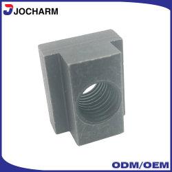 DIN508 10.9 el grado de acero al carbono negro liso las tuercas de ranura en T