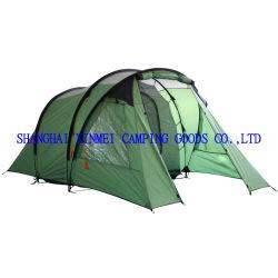 خيمة تخييم مزدوجة الطبقتين على الطراز الأوروبي، خيمة خارجية، خيمة عائلية