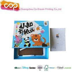 Cortar y pegar la tarjeta de animales coloridos y Box Set