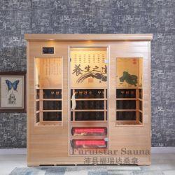 Nieuwe Far Infrared Sauna cabine voor 4 personen met Best Prijs