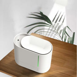 Lâmpada LED ultra-sónico criador de neblina de água mineral lavável humidificador de ar para o quarto grande