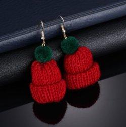 L'hiver de la laine Noël Hat Earring charmant Hat Earring