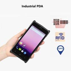 2020 Nouveau PDA Android Terminal avec scanner de code à barres lecteur RFID Collecteur de données d'un PDA