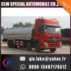 Camion de transport d'eau potable d'eau chaude Inox