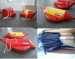 PVC de brinquedos de água única Pessoa banana boat inflável com marcação CE