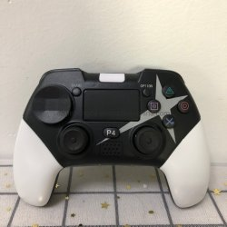 وحدة التحكم بالألعاب لـ PS4، وحدة التحكم اللاسلكية لـ Playstation 4 مع عصا التحكم بلعبة الاهتزاز المزدوج