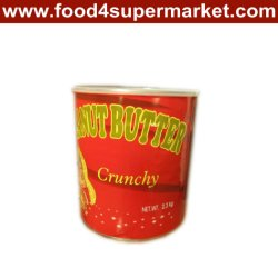 Beurre de cacahuètes dans bidons en acier 5kg