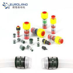 HDPEのMicroductのまっすぐなコネクター、マイクロダクト付属品、カプラー、シーリングおよび固定の要素