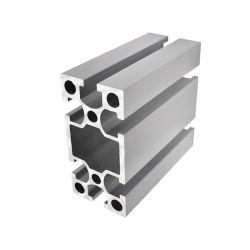 Para la industria de aluminio de tubo ovalado de aluminio Industrial Perfil hueco