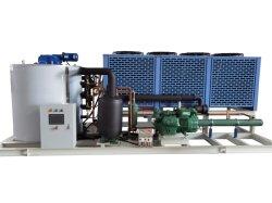 Icema Industrial에서 맞춤 제작 10톤 아이스 메이킹 기계 Flake Ice Machine 해산물 요리 아이스 메이커