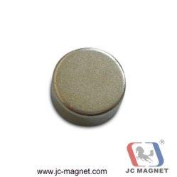 Starkes permanentes Neodym NdFeB des Zoll-N52 runder Platten-Zylinder-seltene Massen-Magnet