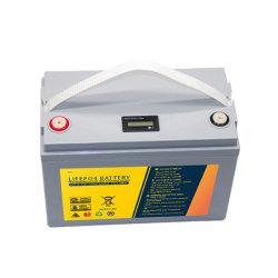 Bateria de lítio de fosfato de Ferro 12.8V100ah LiFePO4 carregável para golfe Carros / carros de turismo / barcos elétricos / Energia Solar / Home emergência poder