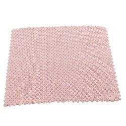20x20см красным жаккард Pearl Высокоэффективные Householfd чистящие салфетки из микроволокна