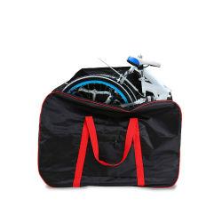 14-20inch (빨간) 접히는 자전거 접는 방식 자전거를 위한 전송 부대를 가진 접히는 자전거 여행 부대 자전거 수송 휴대용 케이스