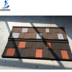 Africa Hot Selling Roof Tile Natural Stone Coated Steel Roof Bouwmaterialen in Ghana