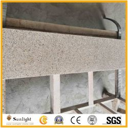 Amarillo pulido G682 Rusty elevadores de escaleras de piedra de granito para banda de rodadura