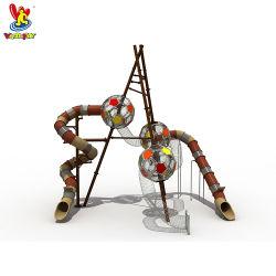 TUVの子供の屋内校庭のおもちゃの遊園地のフットボールタワーのPlaysetsの子供の幼稚園水公園のおもちゃのプラスチックスライドのゲームの屋外の運動場装置