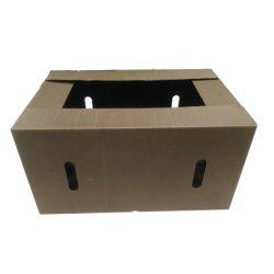 Papel de caja de cartón corrugado sumergido de cera para el embalaje