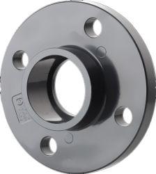 La alta calidad ASTM Sch80 de la válvula de plástico de PVC de brida brida TS UPVC La brida ciega del tubo de UPVC Brida ciega UPVC van de la brida de piedra de UPVC Brida Válvula de mariposa