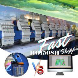 Equipo de nueva máquina de bordar SWF Tajima 1/2/4/6/8 jefes de máquinas de bordado Monograma tejido de la máquina para Hat de prendas de vestir la camiseta de los precios de segunda mano en China