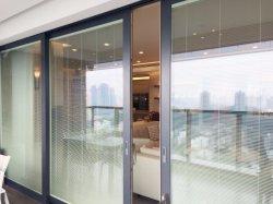 Las puertas de patio de cristal deslizante de Patio de lujo en las puertas de hardware para la puerta de entrada