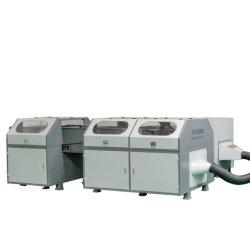 Industrielle Fabrik-Zubehör-bereiten die automatische Schwamm-Ausschnitt-Maschine Schaumgummi-Scherblock auf