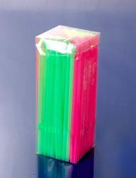PVC ボックスパッキング付きフレキシブルスプーンストロー( JY-00234 )