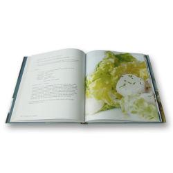 カスタム色刷の調理法、コックの本(OEM-HC042)