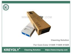 El líquido de limpieza para COM Color 3150R 7150R 9150R de limpieza de cabezales de impresora de tinta de solución para la ruta de acceso