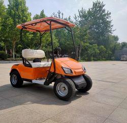 مقاعد المركبة الإلكترونية 2 ذات القدرة العالية المعتمدة من قبل CE ذات السرعة المنخفضة سيارة نادي جولف كهربائية للبيع في القرية