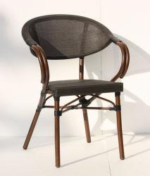 """Outdoor"""" Textilene Starbucks Coffee Restaurante Oficina Alumínio Mobiliário Cadeira exterior (TC-08011)"""