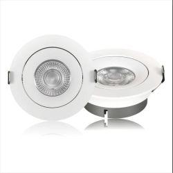 AC110-240V 천장 매립형 언더 라이트 라운드 슬림 LED 다운 라이트 7W 12W 15W(가정용 상업용