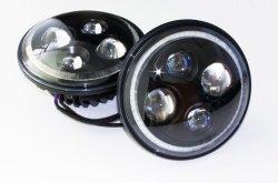 7'' индикатор черного цвета фары авто фары с корпусом светодиодный фонарь погрузчика