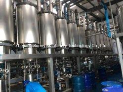 Sistema de Destilação molecular com tecnologia de separação Liquid-Liquid