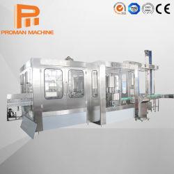 L'eau minérale automatique Commercial/bière/ de glucose/l'acide lactique des boissons en plastique/machine de remplissage de bouteilles en verre