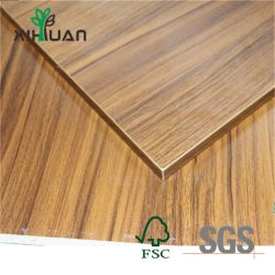 Le teck/cendres/Oak/Birch//Pine/noyer/hêtre/Sapeli/Cedar/Bintangor Okoume/placage naturel face MDF pour meubles