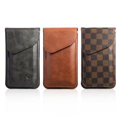 Portefeuille en cuir noir vertical Clip ceinture housse étui pour iPhone Xi 2019 5.8 6.1 6.5 pouces pouces
