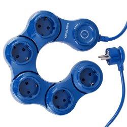 Ue flexão flexível extensão eléctrica da tomada do Interruptor de 360 Rotativos com marcação CE CERTIFICAÇÃO GS