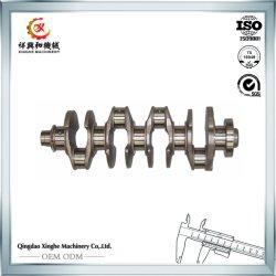 Asta cilindrica lavorante calda della scanalatura di CNC dell'albero a gomito dell'acciaio legato del pezzo fuso di Foring della parte di motore dell'OEM