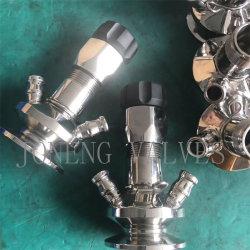 Aço inoxidável Medidas Sanitárias Grau Alimentício asséptica de aperto da válvula de amostragem (JO-VPS 1002)