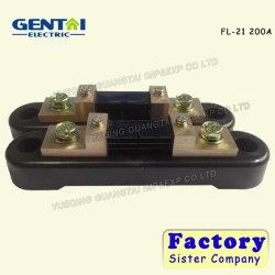 FL-21 cuivre résistance shunt électrique DC actuel pour l'AMP Ampère noir du tableau de bord