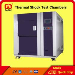 Choque térmico da câmara de ensaio, choque de temperatura da câmara de ensaio 50L