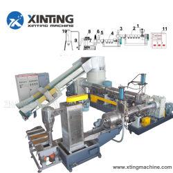 PE LDPE película plástica de los residuos de la máquina de peletización