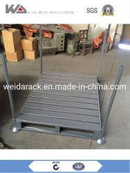 Metálica de acero galvanizado plegable Rack apilable /el apilamiento de palet