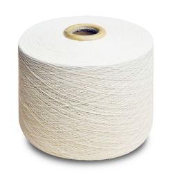 40s2 de ruwe Witte Gesponnen Garens Katoen In entrepot van de Polyester Ring