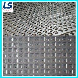 Chapas Galvanizadas de metal perfurada Anti Skid Plate/Anti -Placa de Deslizamento