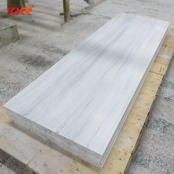 La vente en gros des matériaux de construction DuPont Hanex Effet marbré Surface solide feuilles